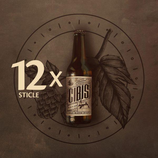 imagine bere Black Ale 12 sticle