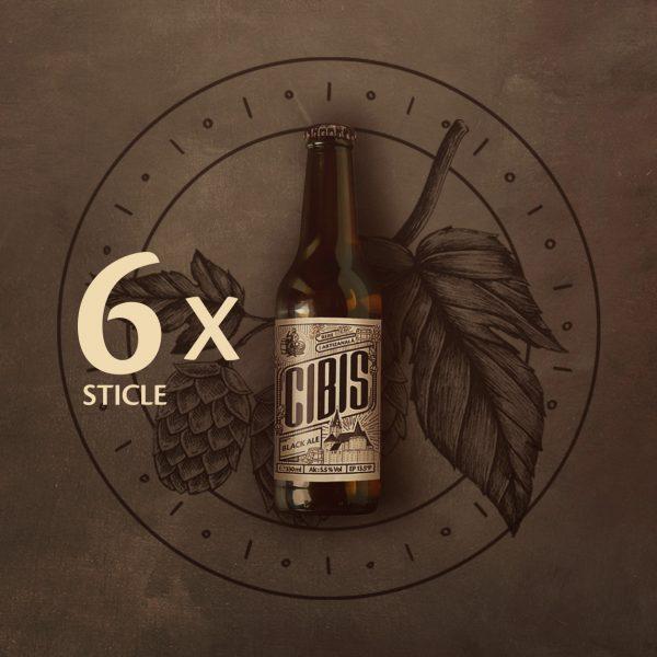 imagine black ale 6 sticle